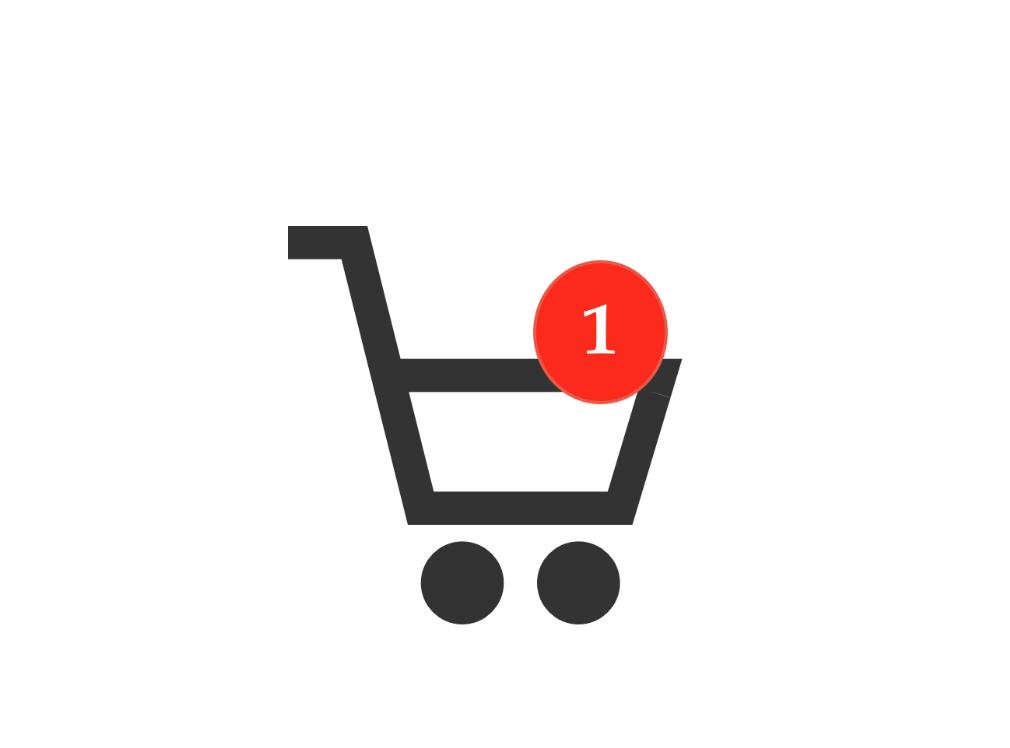 shopping chart jualan baju online