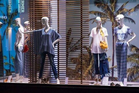 display baju butik