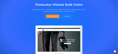 website butik online