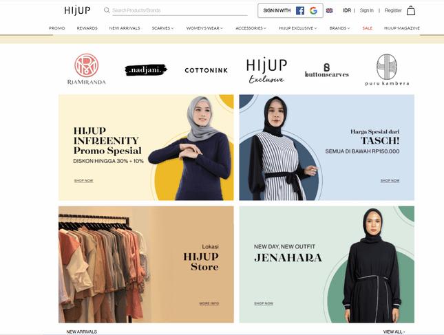 promo menarik jualan baju online