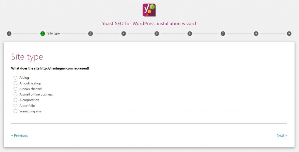 langkah-langkah konfigurasi yoast seo