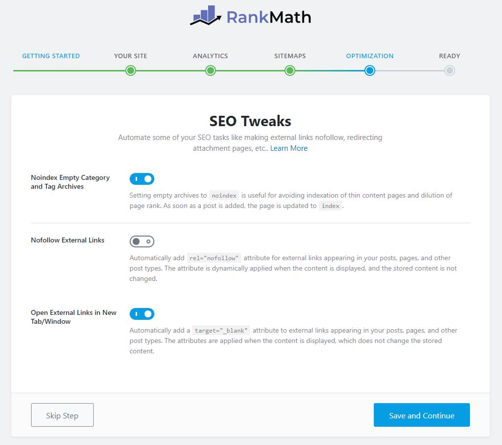 cara setup konfigurasi rank math