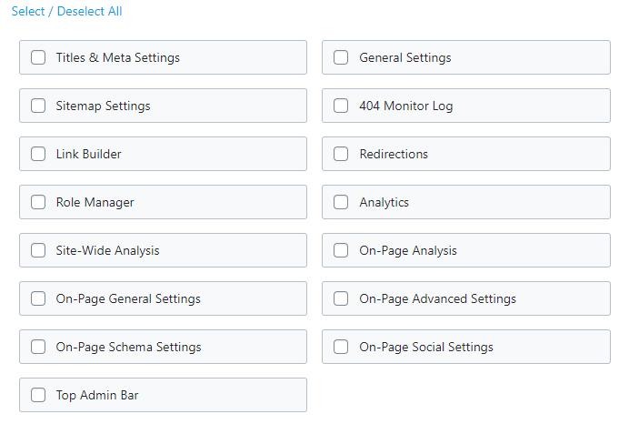 setting role manager di plugin rank math