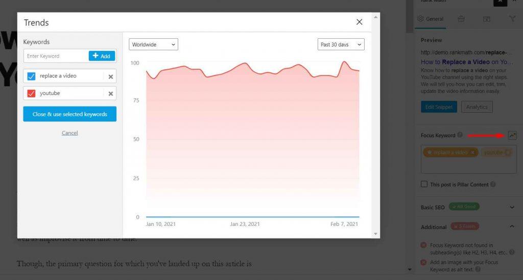 integrasi google trends untuk analisis seo rank math