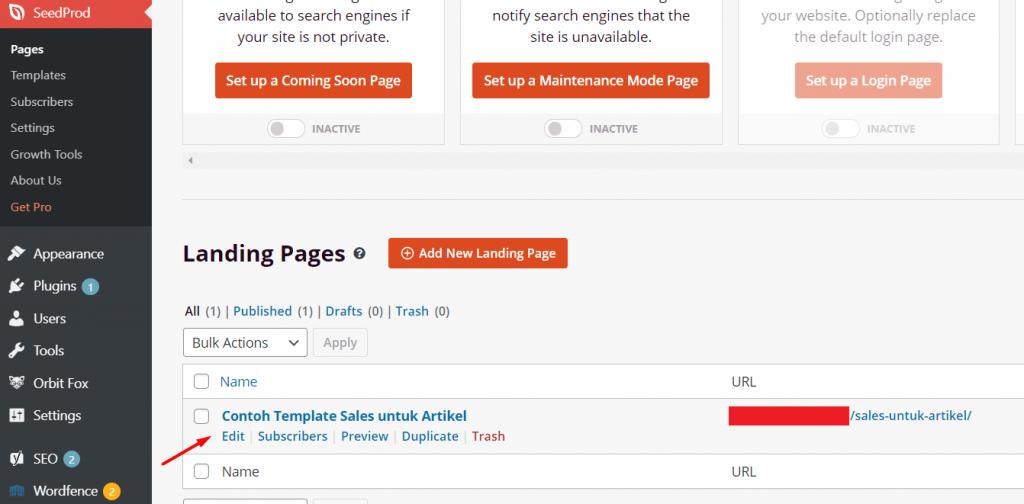 edit wordpress custom templates melalui plugin builder