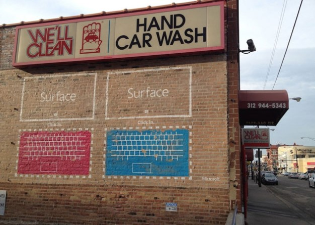 Microsoft x Car Wash campaign