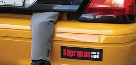 The Sopranos HBO Campaign