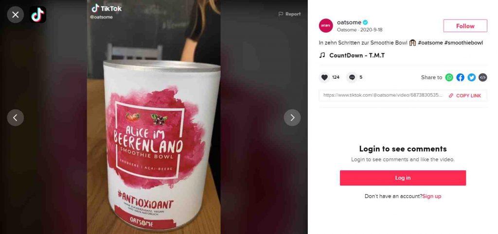 contoh tiktok marketing