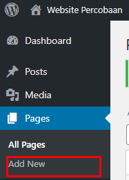 add new pages