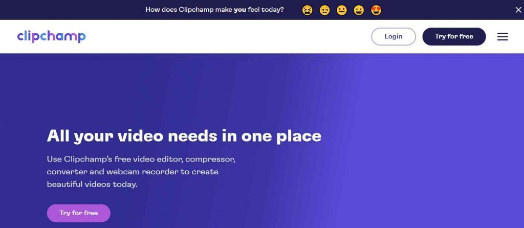 Aplikasi Edit Video ClipChamp