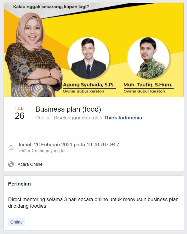 Memaksimalkan Fitur Facebook Event
