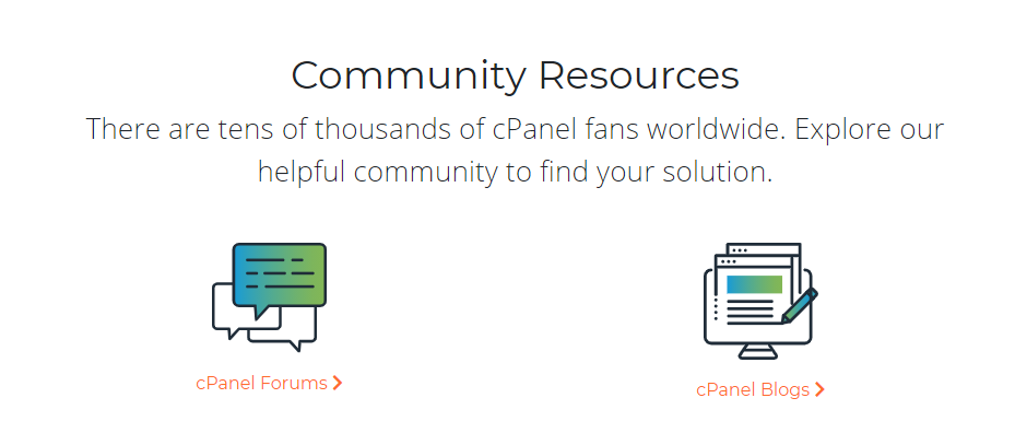 Customer Support cPanel