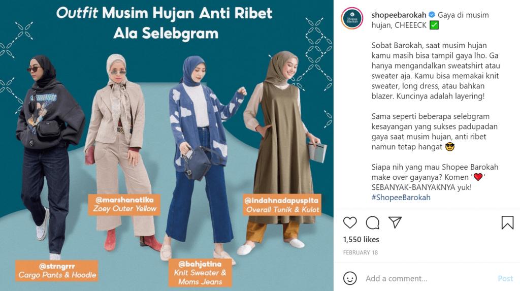 sukses di bulan ramadhan dengan promo shopee barokah di instagram