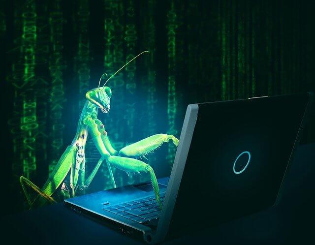 ilustrasi bug software