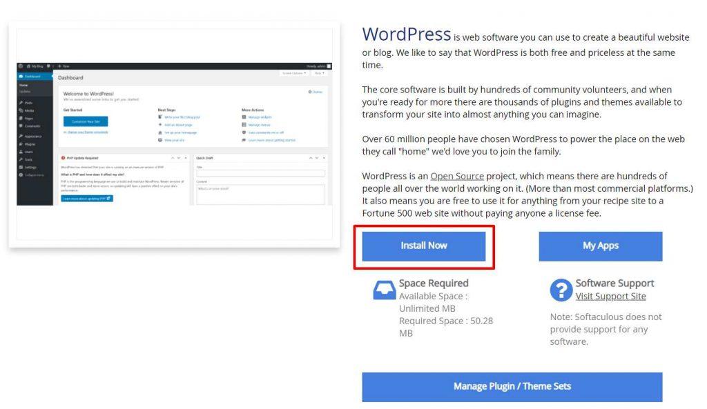 tutorial instalasi wordpress