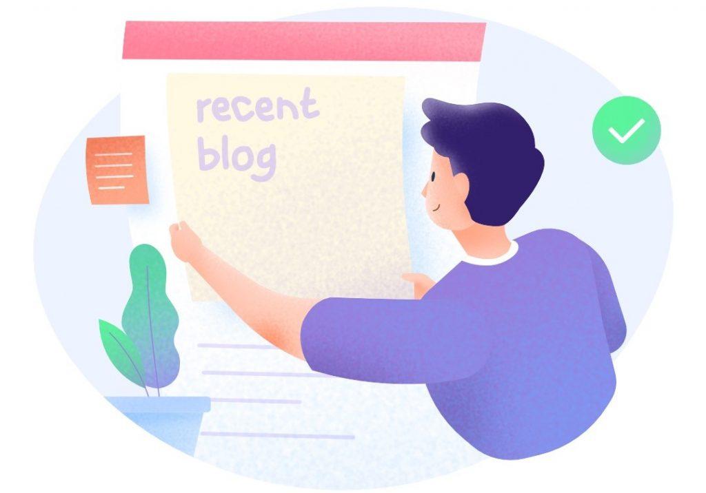 cara membuat blog post pertama kali
