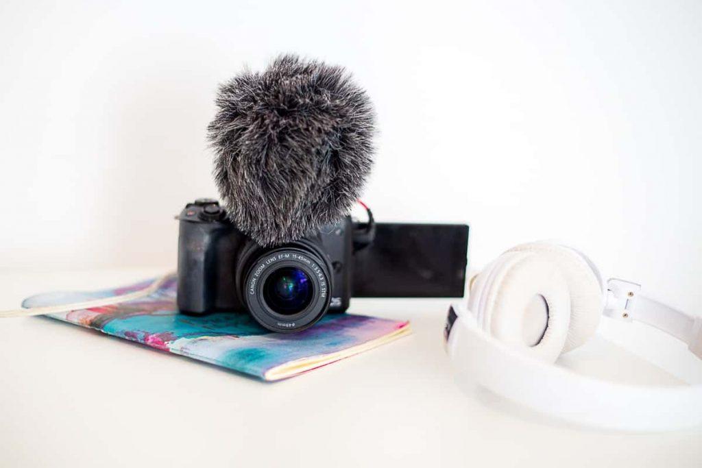 microphone eksternal untuk vlogger