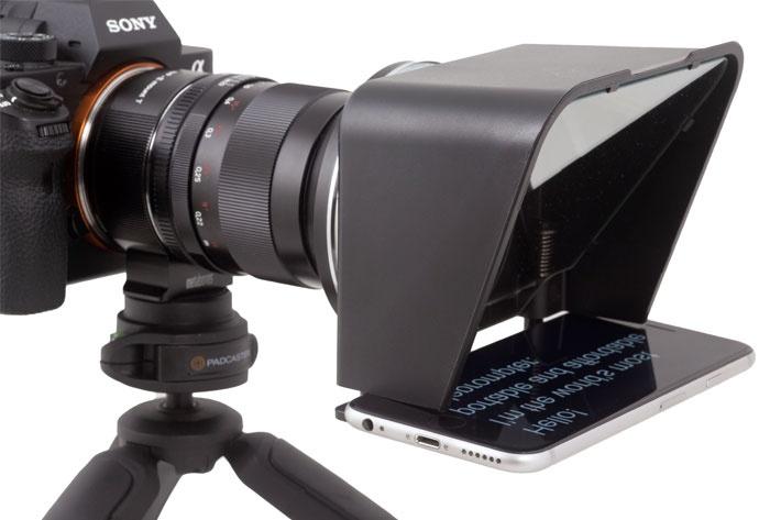 teleprompter untuk vlogger