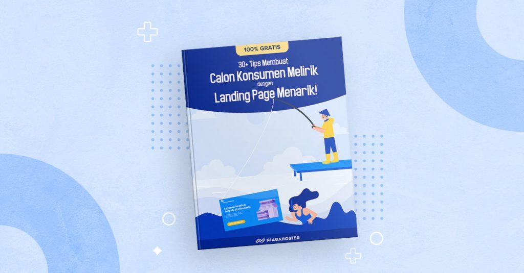 Ebook landing page menarik dari Niagahoster