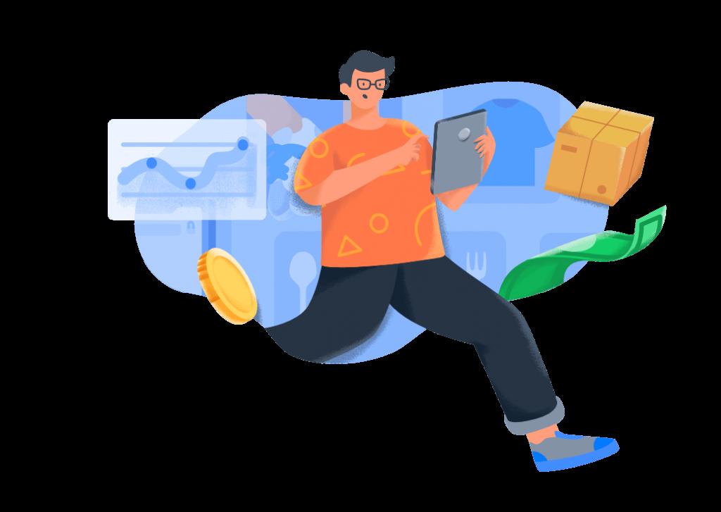 ilustrasi strategi growth hacking untuk membangun startup