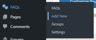 Buat Daftar Pertanyaan FAQ