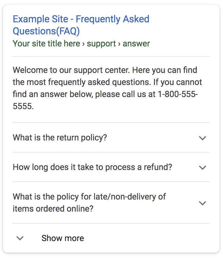 Pakai Schema FAQ Page