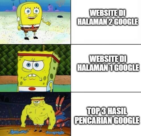 meme serp google spongebob