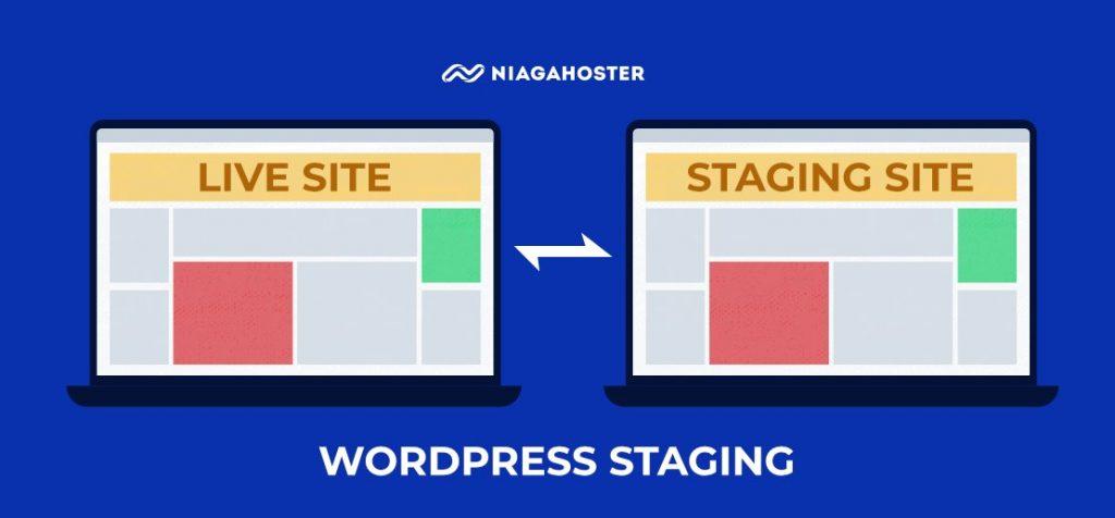 ilustrasi website staging untuk keperluan debugging