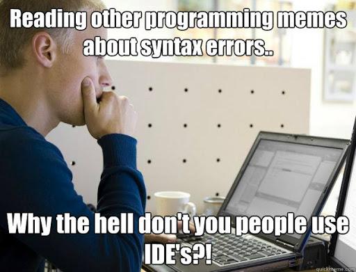 menggunakan IDE tools untuk debugging lebih mudah