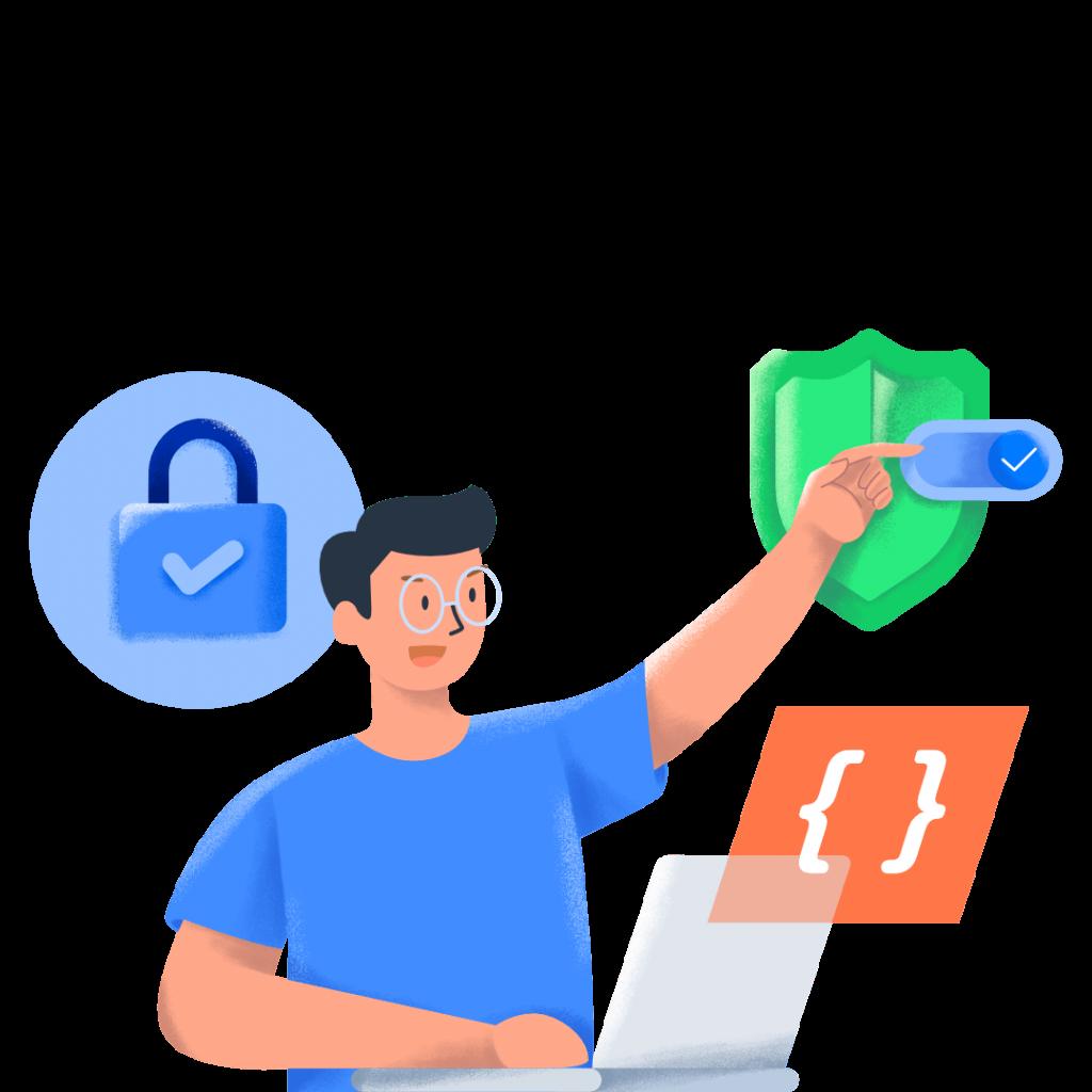 ilustrasi tips menjadi web developer sukses