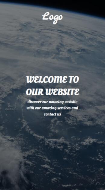 Landing page versi mobile