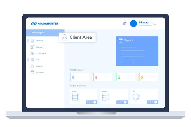 client area niagahoster - Panduan Memulai Bisnis Web Hosting Untuk Pemula