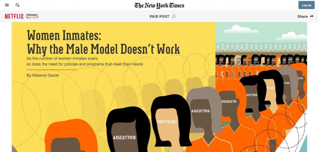 kolaborasi antara dua pihak native ads berupa artikel