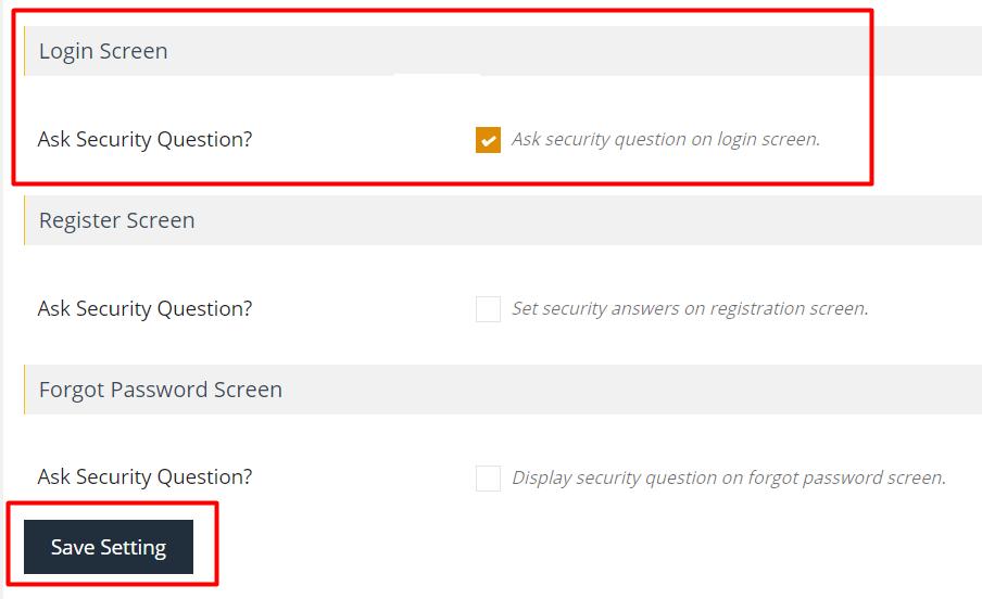 langkah keempat install plugin wp security question