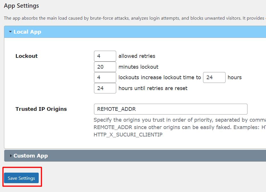 langkah kedua untuk batasi percobaan login wordpress