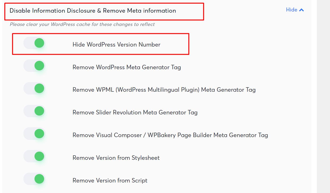 langkah kedua mengamankan wordpress untuk menyembunyikan versi wordpress anda
