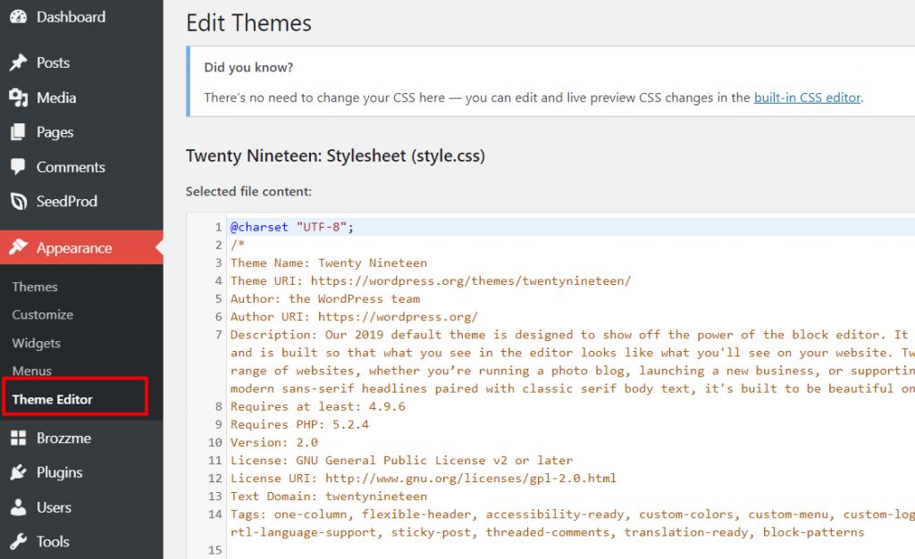 cara mengamankan wordpress dari serangan hacker dengan menonaktifkan fitur edit tema dan plugin