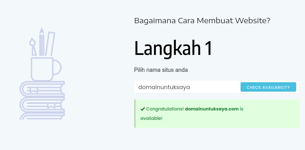 domain afiliasi Niagahoster di website Easywebsi