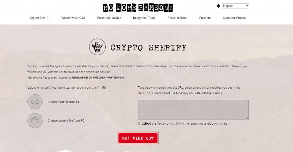 Laporkan Kasus pada Organisasi Anti Ransoware (No More Ransom)