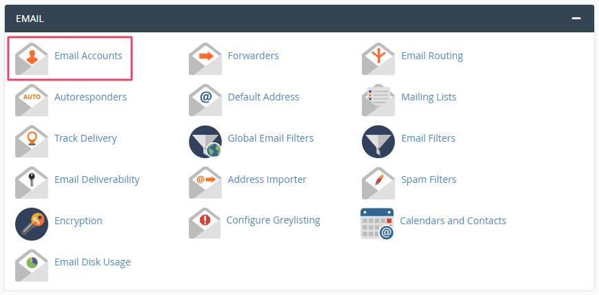 Membuat akun email dengan domain sendiri