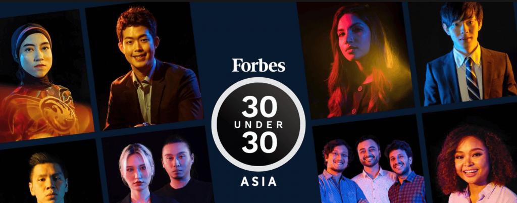 banner 30 under 30 asia