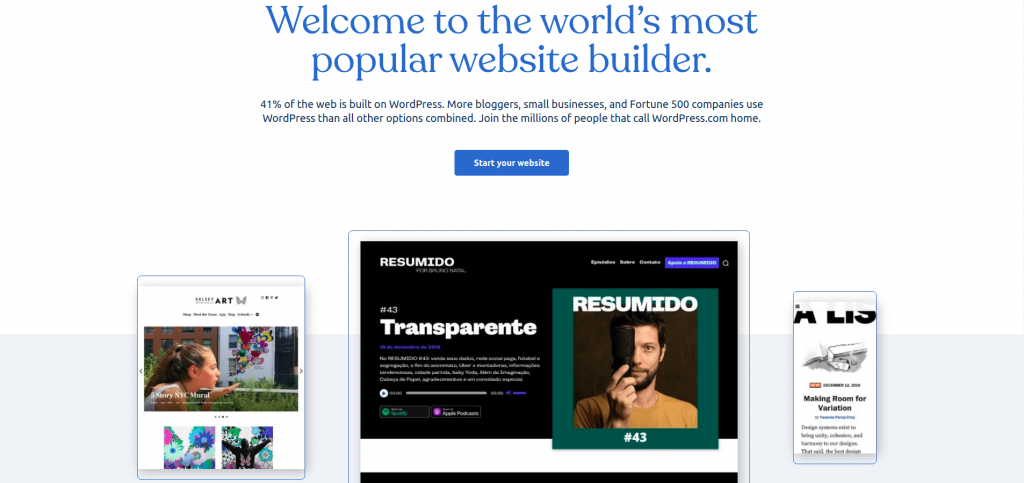 Website WordPress.com