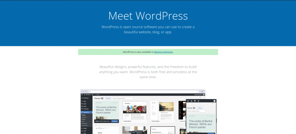 Website WordPress.org