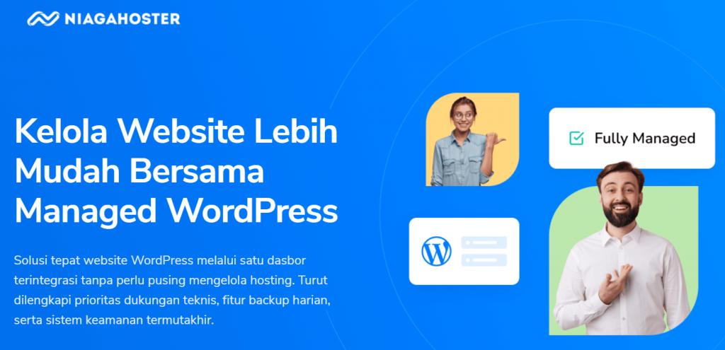 Managed WordPress hosting Niagahoster