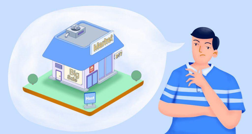 ilustrasi mencocokkan hosting dengan kebutuhan bisnis