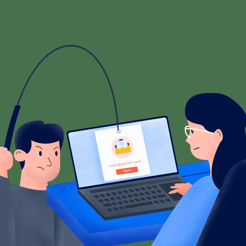 Email asing mencurigakan berpotensi menyebarkan Trojan