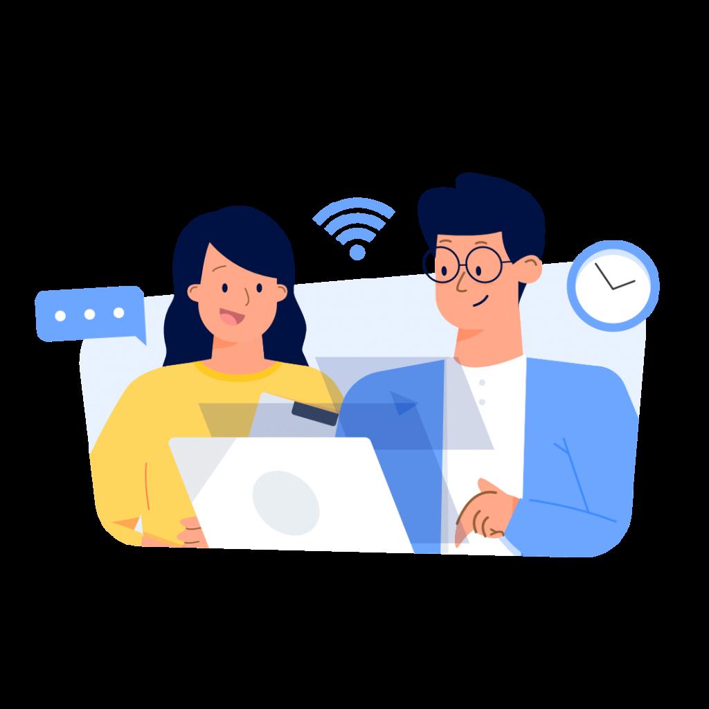 Gunakan jaringan wifi yang terjamin