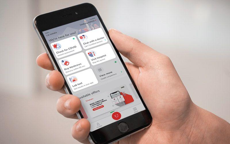 aplikasi kesehatan contoh perkembangan ekonomi digital