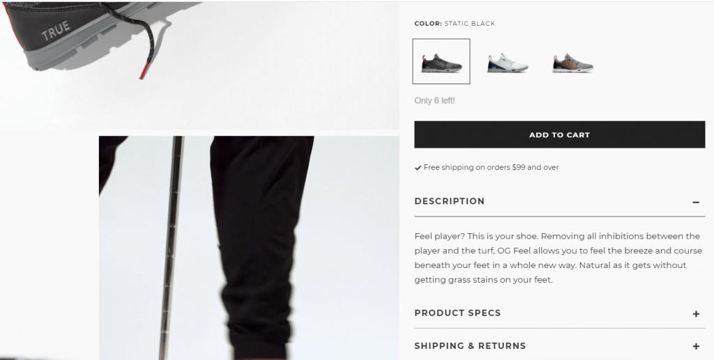 contoh website true linkswear