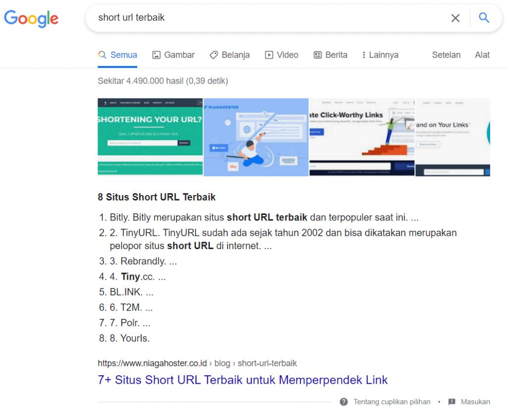 penggunaan heading yang benar akan membuat artikel SEO friendly dan mendapatkan snippet di Google